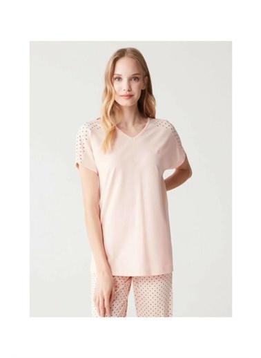Mod Collection Kadın Pijama Takımı Somon